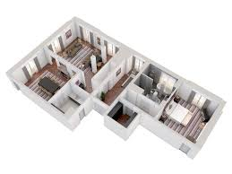 Versailles Floor Plan by 3d Floor Plans At Trianon Palace Versailles