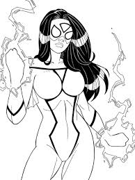 marvel coloring pages spiderman coloringstar
