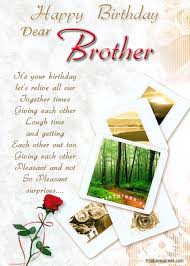 happy birthday to brother cards write name on birthday cards for