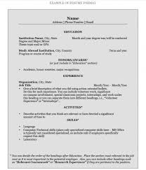 How To Build A Resume How To Build A Resume For College Samples Of Resumes