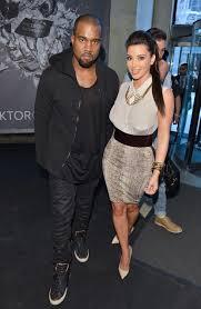 kim kardashian in toronto at with kanye flare