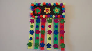 Hanging Pictures Ideas by Craft Idea Simple And Easy Wall Hanging Idea For Kids Youtube