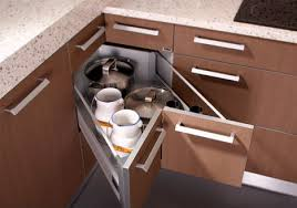 Coner Base Cabinet Pull Out Vs Lazy Susan By Pabs - Lazy susan kitchen base cabinet