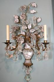Rock Crystal Chandeliers Sconce Perfect Lighting Faux Candle Chandeliers And Wall Sconces