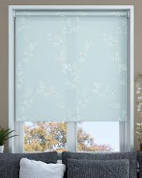 Duck Egg Blue Blind Pattern Roller Blinds Made To Measure From Make My Blinds
