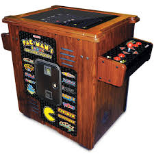 the 30th anniversary authentic pac man arcade cocktail table
