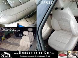 reparation siege cuir voiture rénovation sièges auto cuir avant et arrière en noir sofolk