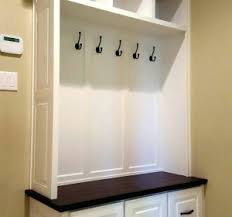 mudroom bench with storage diy entry bench with storage walmart