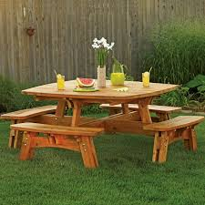 cedar picnic table plans table plans pdf download free picnic