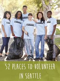 places to volunteer in seattle