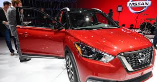 nissan kicks red nissan kicks in a new small suv with brazilian roots