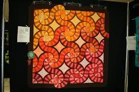 best shades of orange garden state quilters u0027 show melanie tuazon