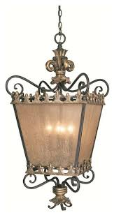 Jeremiah Lighting Chandeliers Jeremiah Lighting Fleur De Lis 4 Light Foyer In French Gold