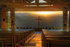 A Place Nc Pretty Place Chapel With A Breathtaking View Of The Blue Ridge