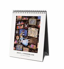 Amazon Com Holiday Wonderland 100 by Amazon Com Rifle Paper Co 2017 Desk Calendar Alice In