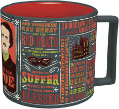 Unusual Mugs Amazon Com Edgar Allan Poe Coffee Mug Poe U0027s Most Famous Quotes