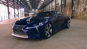 lexus lf fc interior lexus lf lc blue youtube