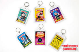 tapatio keychain the hundreds x garbage pail kids freshness mag