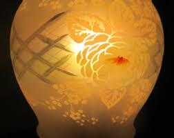 glass lamp shade etsy