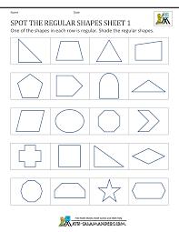 Interior Angles Of Polygon Regular Shapes