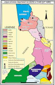 map of cameroon maps of cameroon languages vegetation population towns