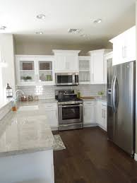 kitchen white cabinets and backsplash small tile backsplash grey