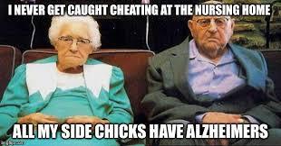 Nursing Home Meme - just living the dream imgflip