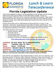 Florida Department Of Revenue Power Of Attorney by Wz New Florida Nonprofits News Archives