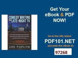 comedy writing for late night tv how to write monologue jokes