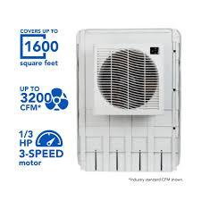 mastercool 3200 cfm slim profile window evaporative cooler for