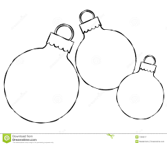 superb christmas ornament outlines part 7 free christmas