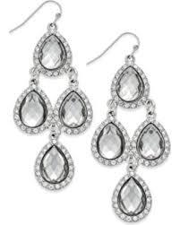 teardrop chandelier earrings winter shopping special i n c teardrop chandelier earrings