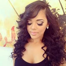 long curly sew in hairstyles curly sew in weave hairstyles easy