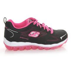 girls u0027 skechers skech air bizzy bounce running shoes