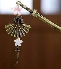 japanese hair pin japanese hair pin kanzashi shell sword stick