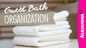 guest bathroom organization ideas u0026 tour part 2 of 2 youtube