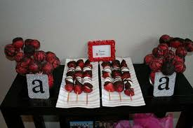 Red And Black 30th Birthday Decorations Image Inspiration of
