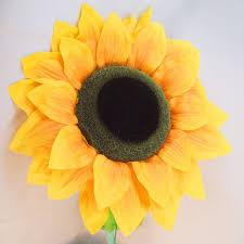 artificial sunflowers supersized artificial sunflower vm display prop
