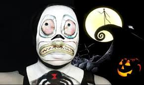 Nightmare Before Christmas Halloween Makeup by Nightmare Before Christmas Mayor Makeup Tutorial Collab W