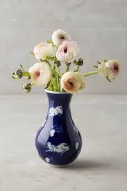 Porcelain Flower Vases Porcelain Floral Vase Blue White Target