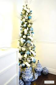 clearance christmas trees white pencil christmas tree canada clearance unlit