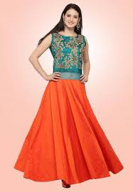 buy indo western designer gowns dresses online shopping
