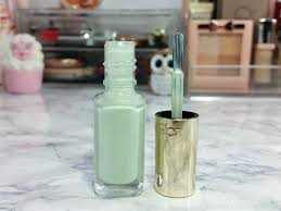 l u0027oreal les blancs color riche nail polish 852 pistachio drage