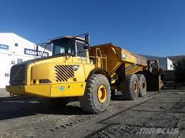volvo dump truck volvo a40 d articulated dump truck adt year of manufacture