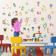 wall decoration wall sticker numbers lovely home decoration and
