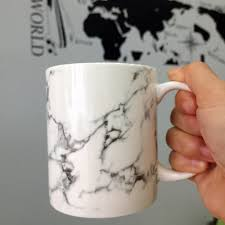 aliexpress com buy 350ml ceramic marble design coffee tea mugs