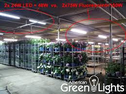 led vs fluorescent shop lights americangreenlights