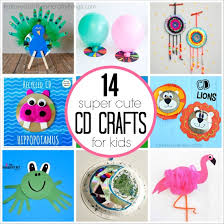 for kids 14 cd crafts for kids i heart crafty things