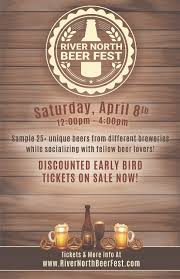 Map River North Chicago by River North Beer Fest Chicago Beer Tasting Tickets Sat Apr 8