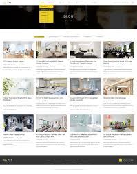 arc interior design decor architecture business psd template